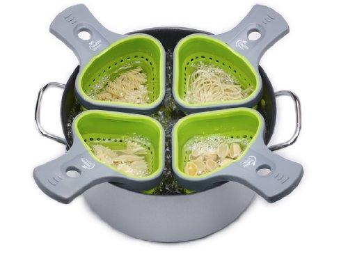 s Portion Control Pasta Basket