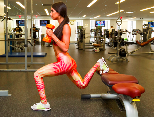 Jen Selter Lunges