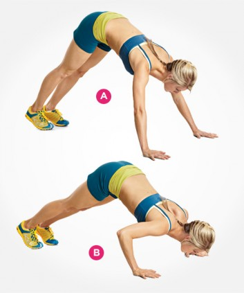 Pike Push up