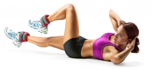 Ankle Weights Exercises: Air Bike