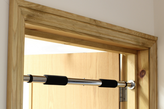 Telescopic Doorway Pull-Up Bar