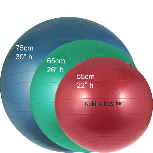 Exercise Ball Sizes