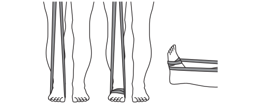 Resistance Band Foot Wrap