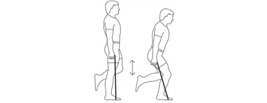 Resistance Band One-leg Squats