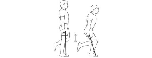 Resistance Band One-leg Squats