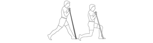 Resistance Band Lunge Step-in