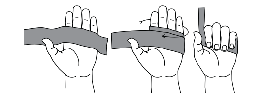 Resistance Band Grip Wrap