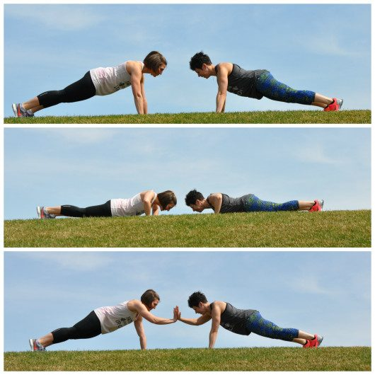 Pushup Plank with a Clap