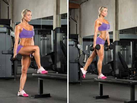 Dumbbell Step-Ups