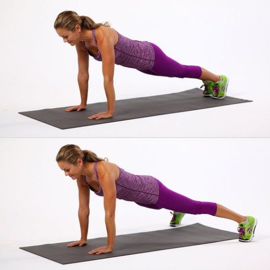 Plank Jumps