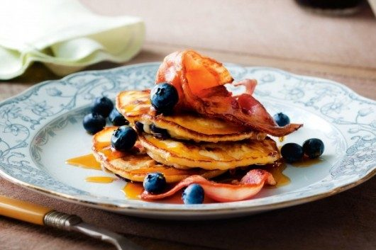 Delicious Bacon Pancakes for Breakfast. Mouthwatering Video Recipe