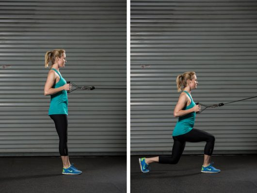 Cable Lunge