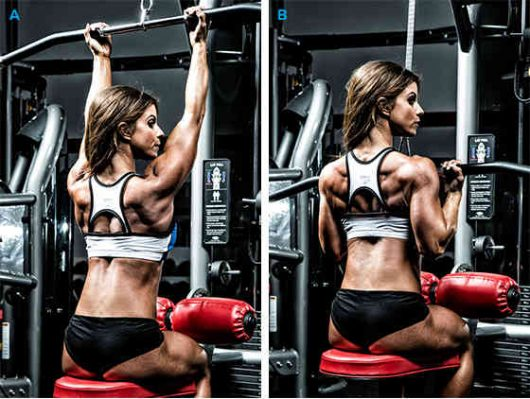 Close-Grip Pull Downs