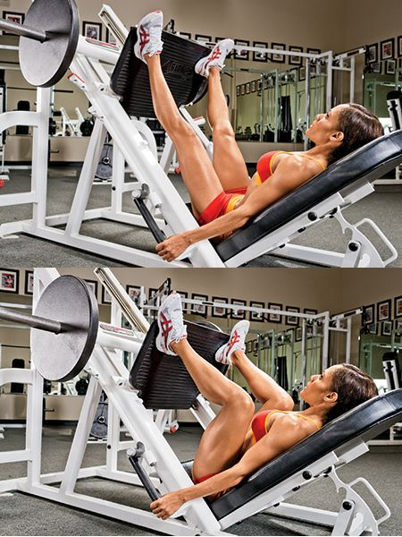 Wide Stance Leg Press