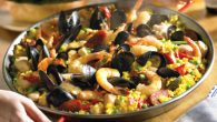 Homemade Paella Valenciana