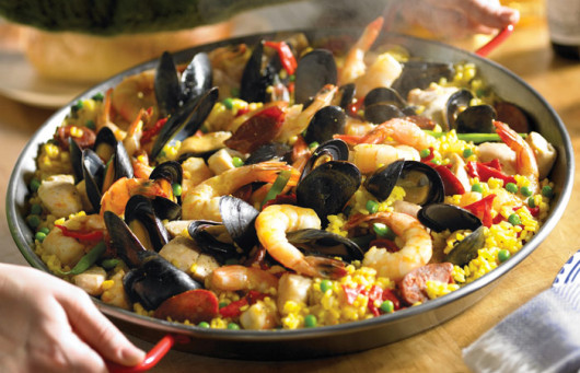 Homemade Paella Valenciana The Original Video Recipe Top Me