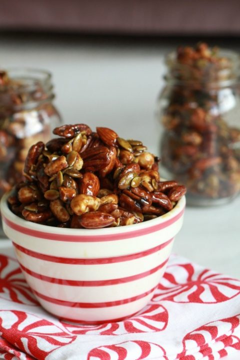 Honey Roasted Nuts and Fruits