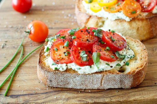 tomato-and-ricotta-bruschetta