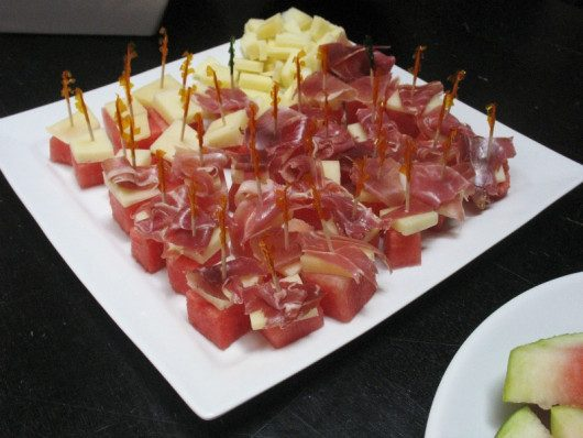 watermelon-cheese-and-ham-skewers
