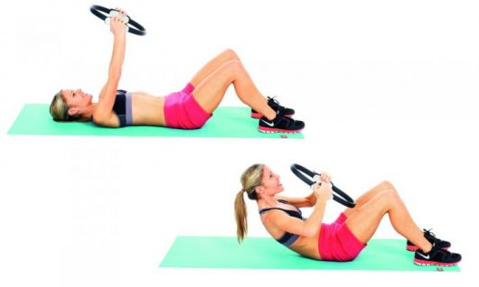 Pilates Crunches