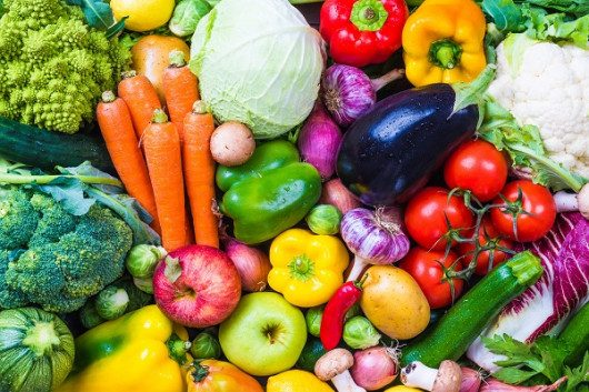 Diet Rich in Vegetables and Fruits