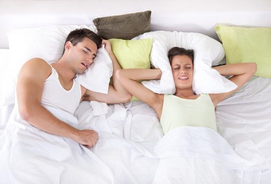 Take Control of Your Diet to Stop Snoring