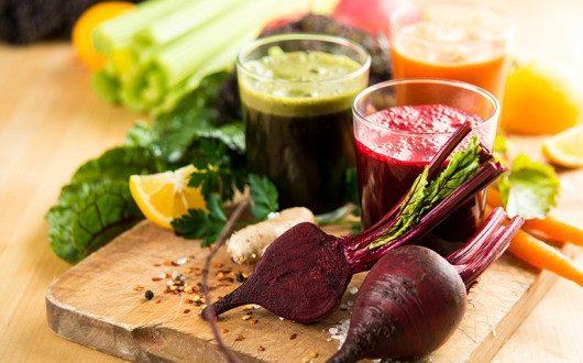 Juicing Vegetables