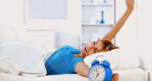 Wake up habit