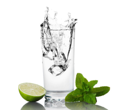 The combination of warm water and lemon juice is ideal for flushing toxins.