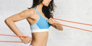 At Home Full Body Workout With Resistance Bands
