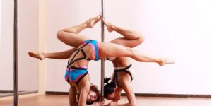 6 Basic Forearm Stand Variations for Pole Fitness. Video Tutorial
